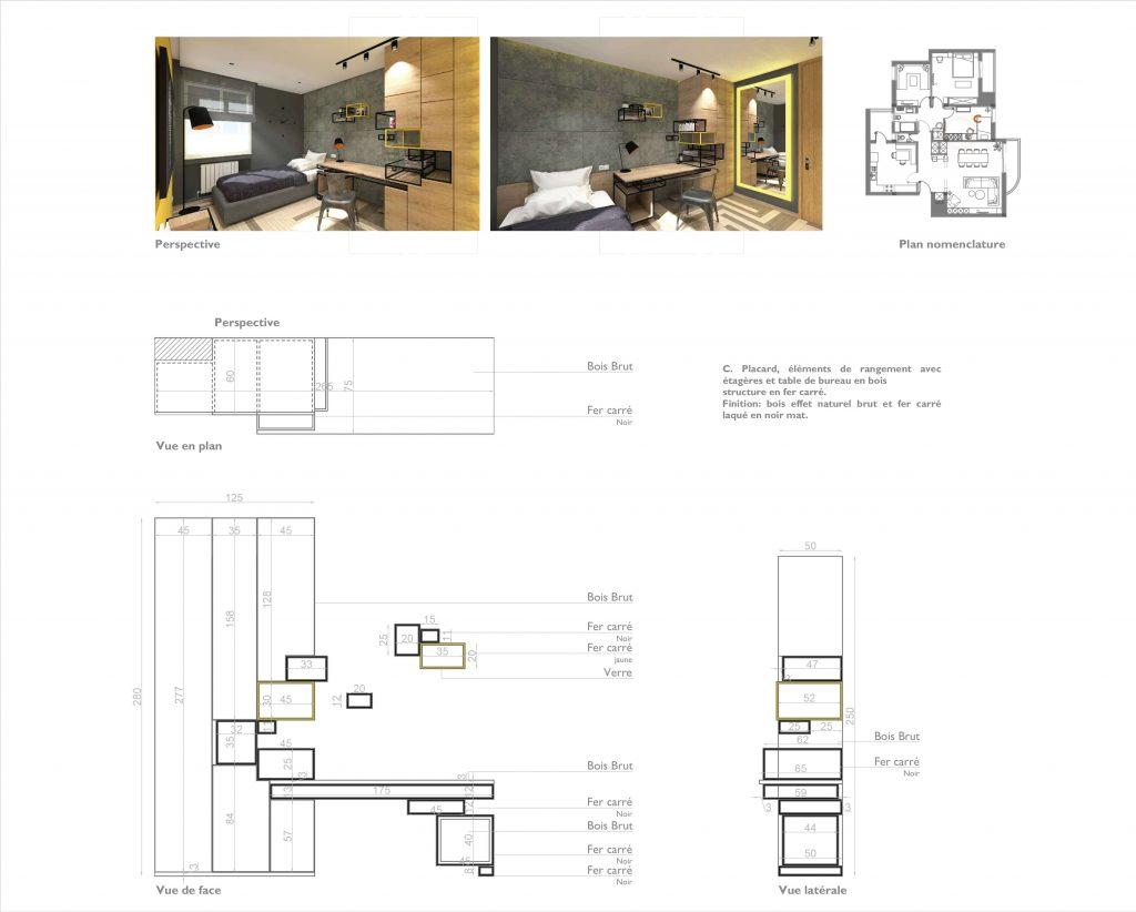 plan architecte d'intérieur tunis