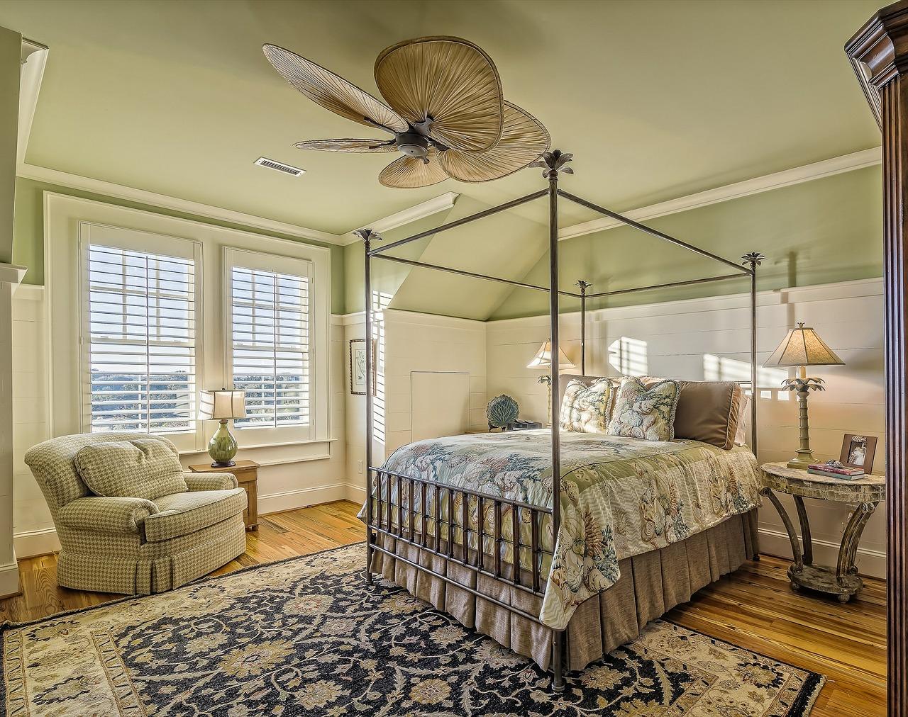 Cinq conseils pour décorer une chambre à coucher
